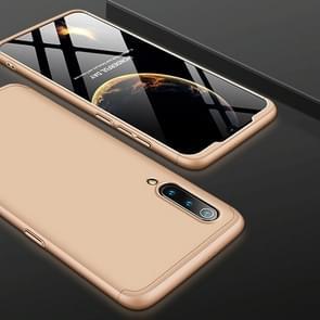 GKK drie stage splicing volledige dekking PC Case voor Xiaomi mi 9 SE (goud)
