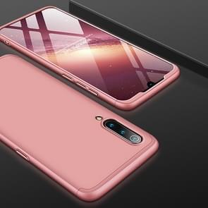 GKK drie fase splicing volledige dekking PC Case voor Xiaomi mi 9 SE (Rose goud)