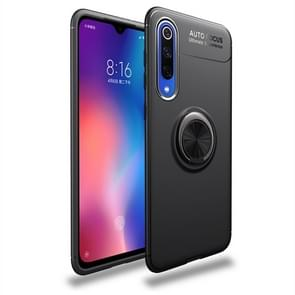 lenuo Shockproof TPU Case for Xiaomi Mi 9 SE, with Invisible Holder (Black)