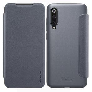 NILLKIN Frosted Texture Horizontal Flip Leather Case for Xiaomi Mi 9 (Grey)