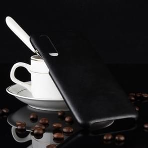 Shockproof Litchi Texture PC + PU Case for Xiaomi Mi 9 SE (Black)