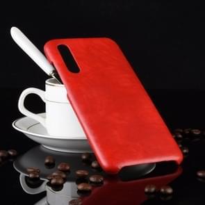 Shockproof Litchi Texture PC + PU Case for Xiaomi Mi 9 SE (Red)