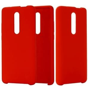 Solid Color Liquid Silicone Dropproof Protective Case for Xiaomi Redmi K20 / K20 Pro / Mi 9T / Mi 9T Pro(Red)