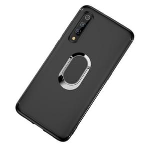 Shockproof TPU Full Protective Case for Xiaomi Mi 9 SE, with 360 Degree Rotation Holder (Black)