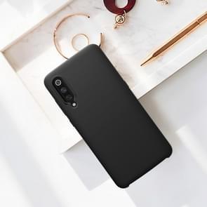 NILLKIN Liquid Silicone Shockproof Soft Case for Xiaomi Mi 9 (Black)