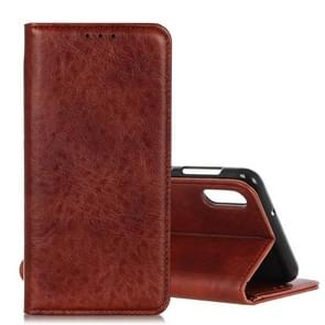 Magnetic Retro Crazy Horse Texture Horizontal Flip Leather Case for Xiaomi Mi9, with Holder & Card Slots & Photo Frame (Brown)
