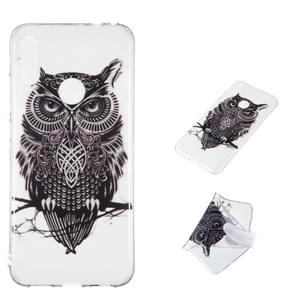Owl Pattern Highly Transparent TPU Protective Case for Xiaomi Redmi Note 7