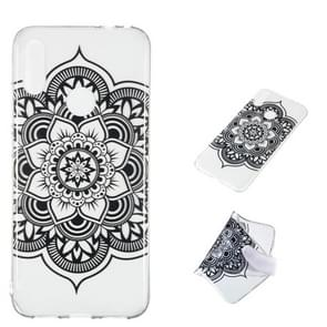 Datura Noir Pattern Highly Transparent TPU Protective Case for Xiaomi Redmi Note 7