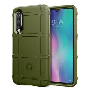 Shockproof Rugged  Shield Full Coverage Protective Silicone Case for XiaoMi 9 SE(Army Green)
