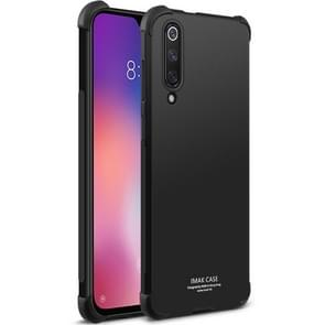 IMAK All-inclusive Shockproof Airbag TPU Case for Xiaomi Mi 9 SE, with Screen Protector (Black)