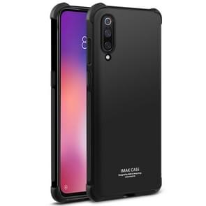 IMAK All-inclusive Shockproof Airbag TPU Case for Xiaomi Mi 9, with Screen Protector (Black)