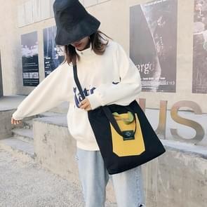 Fashion Casual Single Shoulder Bag Ladies Handbag (Black)
