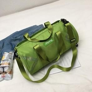 Nylon schuine schouder tas Bagage Handtas (groen)