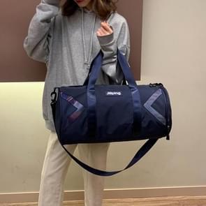 Nylon schuine schouder tas Bagage Handtas (blauw)