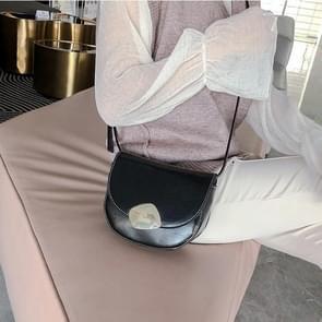 Retro Round Flip Cover Casual Small Bag Ladies Shoulder Messenger Bag