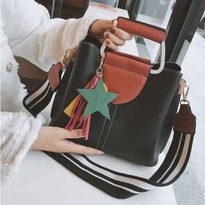 Casual PU Leather Litchi Texture Shoulder Bag Messenger Bag Ladies Handbag