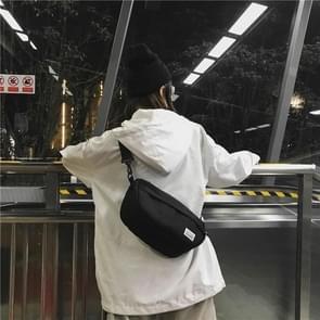 Mode reizen Crossbody handtas schoudertassen (zwart)