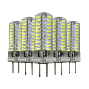 5 PCS YWXLight GY6.35 5W 80LEDs SMD 4014 Energy Saving LED Silicone Lamp (Warm White)