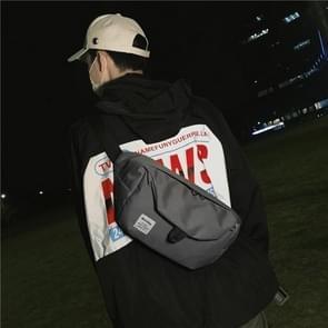 Vrije tijd taille reizen Crossbody handtas schoudertassen (grijs)