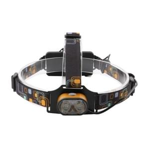 YWXLight T6 USB Rechargeable Adjustable 3 Modes Rotatable IP65 Waterproof LED Headlight