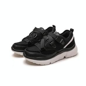 Trend Color Matching Casual Shoes for Women (Color:Black Size:40)