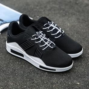 Mesh Breathable Outdoor Casual Sport Shoes for Men (Color:Black White Size:42)