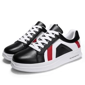 Daily Lightweight and Comfortable Low-top Fashion Outdoor Sport Casual Shoes for Men (Color:Black Size:39)