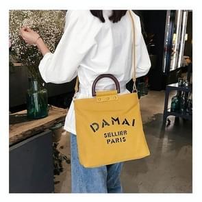 DAMAI Casual Canvas Shoulder Bag Ladies Handbag Messenger Bag