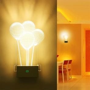 YWXLight 8W Creative slaapkamer bed lamp acryl badkamer woonkamer LED wandlampen (warm wit)