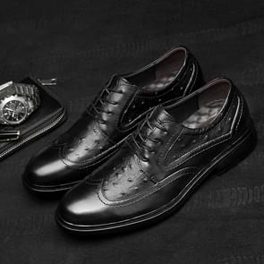 Fashion Comfortable and Temperament Wear Resistant Casual Shoes Dress Shoes for Men (Color:Black Size:37)