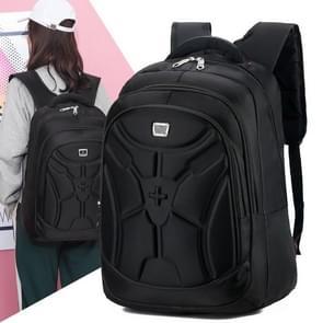 Multifunctional Waterproof Casual Fashion Backpack Cross Couple Bag Sports Bag (Black)