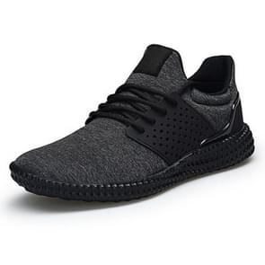 Outdoor Light Stretch Sport Casual Shoes for Men (Color:Black Size:40)