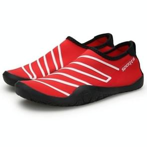 Outdoor Sports Anti-skid Breathable Upstream Wading Shoes (Color:Red Size:36)