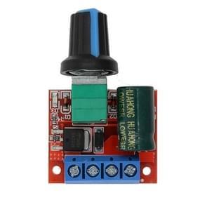LDTR-WG0203 Mini DC-DC 4.5V-35V 5A 90W PWM DC Motor Speed Controller Module Speed Regulator Board Switch Speed Controller (Red)