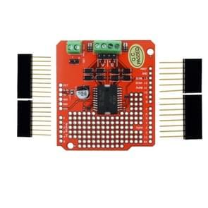 LDTR-WG0213 L298P DC motor driver Shield L298P Expansion Board (rood)