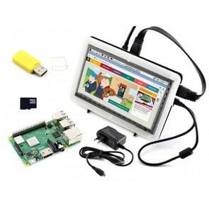 Waveshare Raspberry Pi 3 Model B+ Development Kit (Type F)