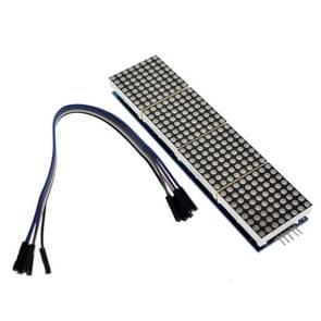 LDTR-WG0221 MAX7219 microcontroller 4-in-1 display dot matrix module voor Arduino