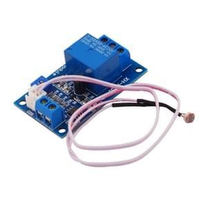 LDTR-WG0225 DC12V lichtgevoelige weerstand module lichte controleschakelaar fotogevoelig Relais power module met sonde kabel  automatische controle helderheid met omgekeerde verbinding bescherming functie (blauw)