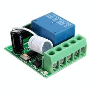 LDTR-WG0228 DC12V 10A 1CH 433MHz Wireless Relay RF Remote Control Switch Receiver (Green)