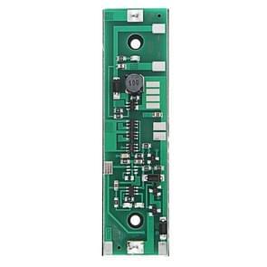 LDTR-WG0235 12V output opladen UPS ononderbroken bescherming geïntegreerde boord 18650 Lithium batterij Boost module met case (groen)