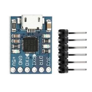 LDTR-WG0240 CP2102 micro USB naar TTL/Serial module Downloader voor Arduino (blauw)