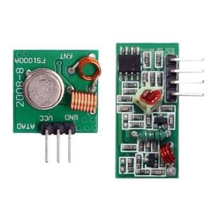 LDTR-WG0241 DIY 433MHz Wireless Transmitter + Receiving Module Superregeneration (Green)