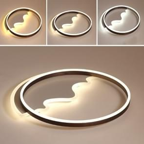 Simple Modern Creative Personality Room Warm Romantic LED Ceiling Lamp, Diameter: 420mm, Stepless Dimming + Remote Control