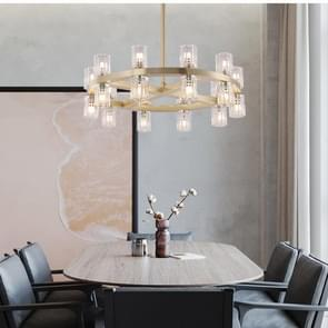 Modern Simple Living Room Restaurant Copper Lamp Villa Hotel Chandelier, 20 Heads Chandelier