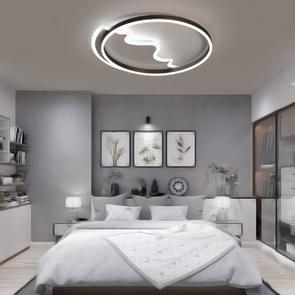 Simple Modern Creative Personality Bedroom Warm Romantic Master Bedroom LED Ceiling Lamp, Diameter: 620mm (White Light)
