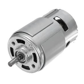 LDTR-WG0260 DC 12/24V 10000RPM High Speed Large Torque 775 Motor (Silver)