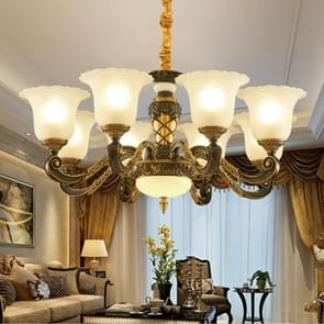 Living Room Simple and Modern Atmosphere Complex Villa Hall Restaurant Crystal Lamps, 8 Heads