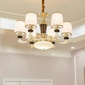 Sfeer zink legering tuin slaapkamer eenvoudig Villa dubbelzijdig Restaurant woonkamer lampen  6 koppen