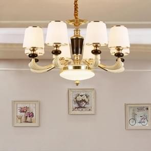 Sfeer zink legering tuin slaapkamer eenvoudig Villa dubbelzijdig Restaurant woonkamer lampen  8 koppen