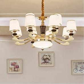 Atmosphere Zinc Alloy Garden Bedroom Simple Villa Duplex Restaurant Living Room Lamps, 12 Heads